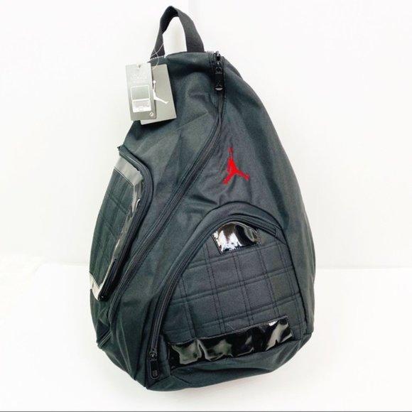 NEW Nike Air Jordan Backpack Bag Jumpman Black